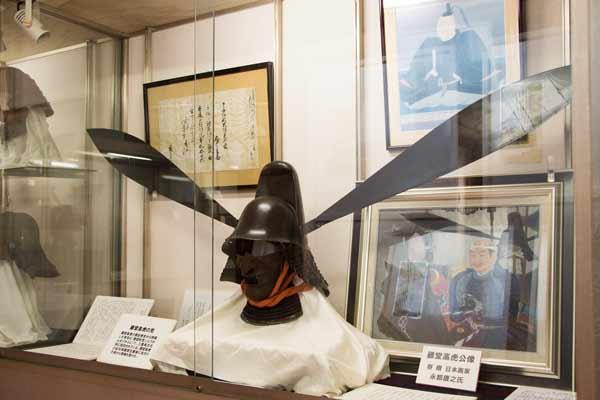 伊賀上野城のとうかんなりかぶと