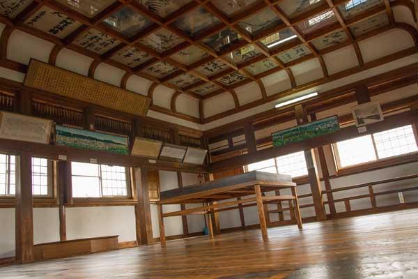 伊賀上野城3階の天井