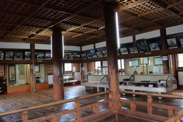 伊賀上野城の2階
