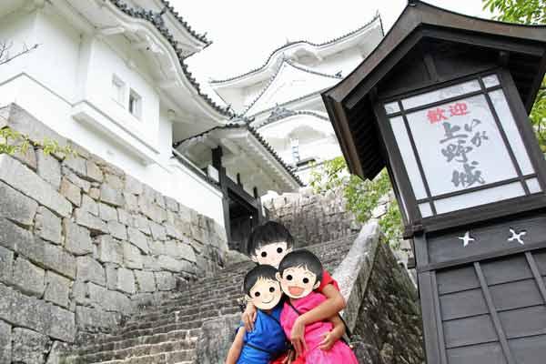 伊賀上野城への入り口