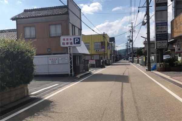 伊賀市の新天地周辺駐車場