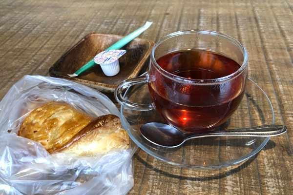 ちゃんとカフェの紅茶