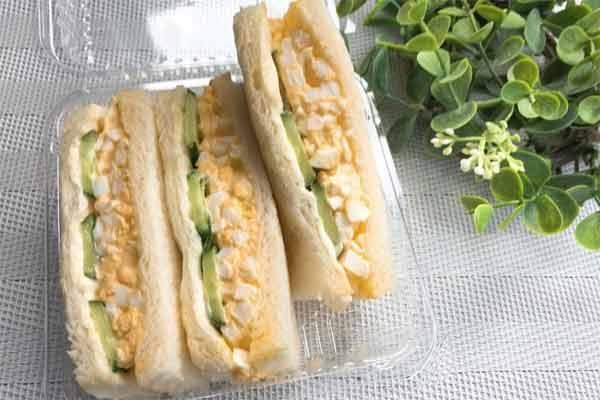 マームベランダのサンドイッチ