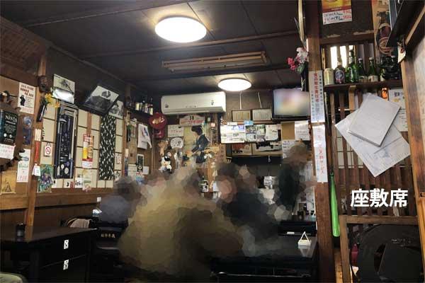 ニカク食堂の店内