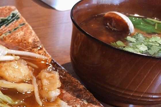 おつなまの味噌汁