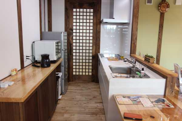 サイエンスホームのキッチン