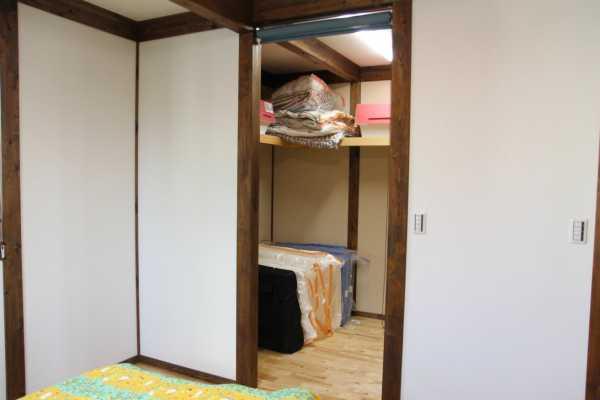 サイエンスホームの寝室