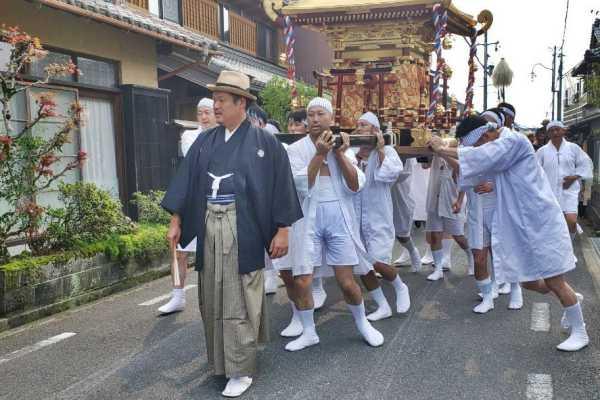 植木神社の祇園祭