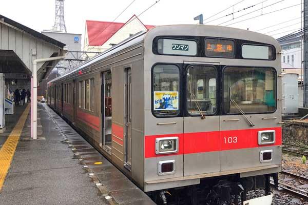 伊賀鉄道のヘッドマーク