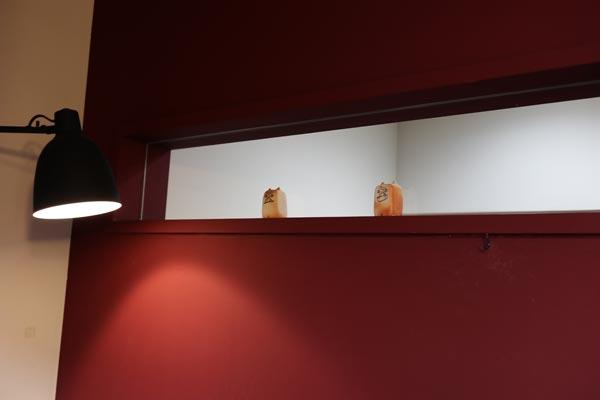 新天地の美容室BASEの店内