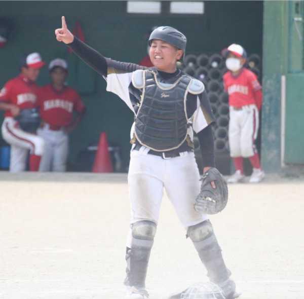 ふたば少年野球クラブの練習風景